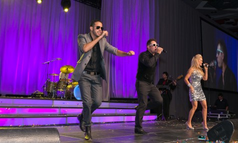 Performing for a Major Corporate Event
