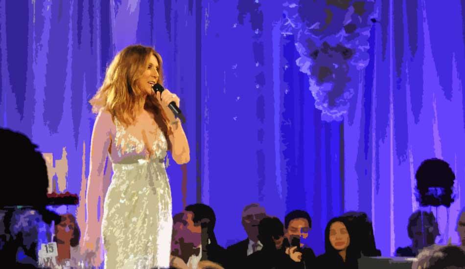 Celine Dion Event Performance