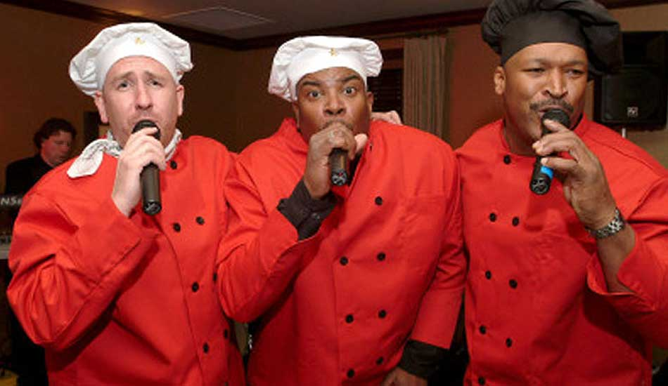 Singing Chefs Corporate Show