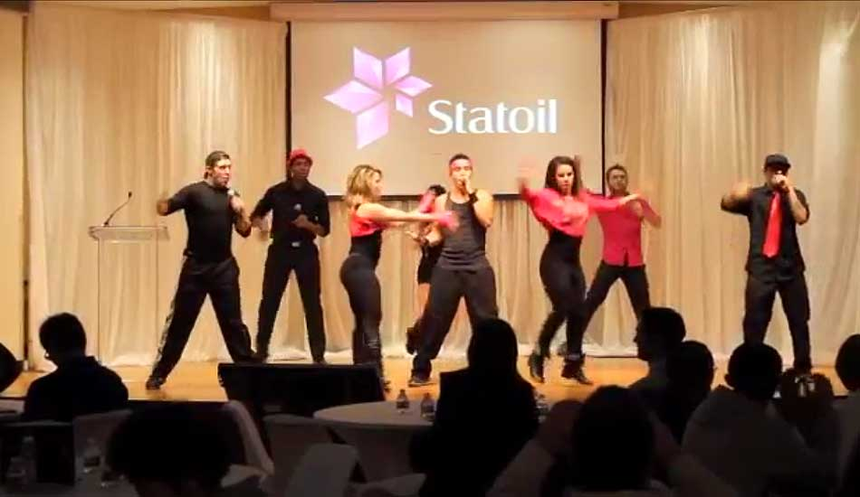 Corporate Flash Mob Dancers