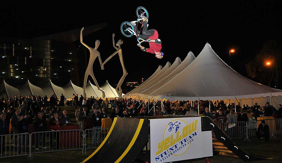 Extreme Sports Entertainment Bike Ramp
