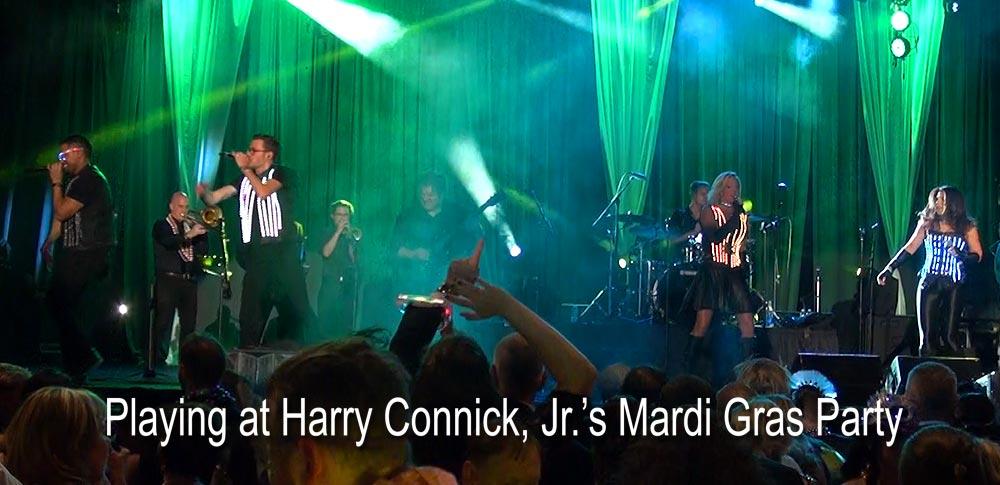 No Limits Live Band Performing at Mardi Gras Party