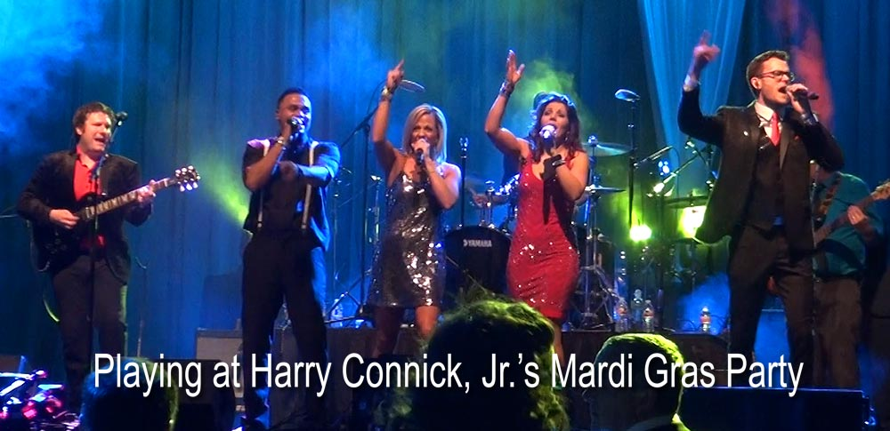 No Limits Playing at Harry Connick, Jr's Mardi Gras Party 2016