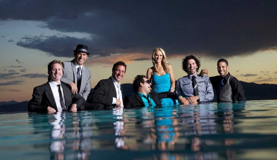 Party Crashers Promo Photo in Water