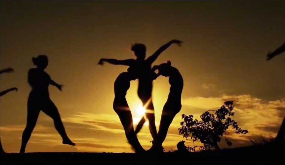 Silhouettes on America's Got Talent