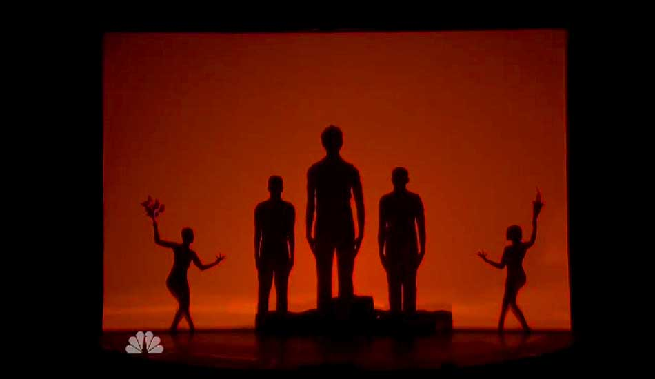 Silhouettes Shadow Dancers