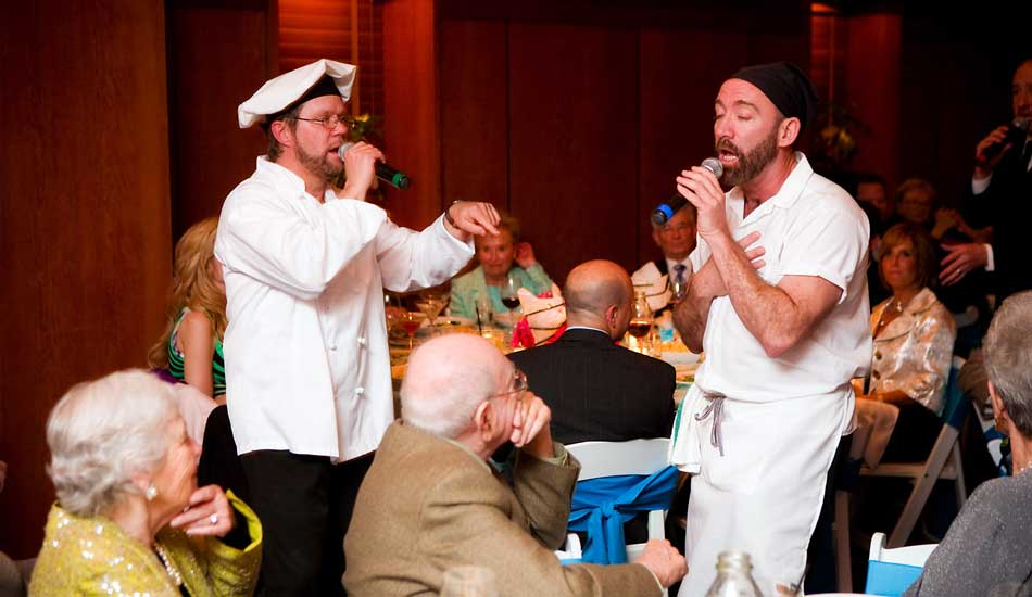 Singing Chefs for Corporate Meetings and Parties