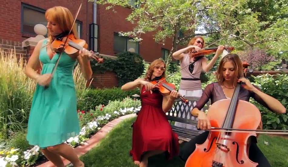 Emerald Wedding Strings