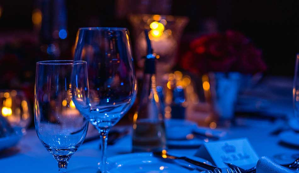 Table Lighting and Glassware