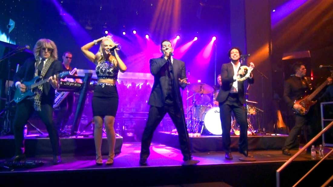 Party Crashers Cover Band at the Mandalay Bay Hotel